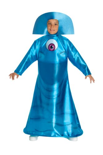 [Monsters Vs. Aliens Child's Bob Costume, Child Small] (Kids Alien Halloween Costume)
