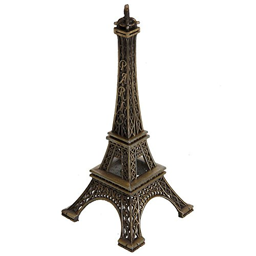 Leegoal 15cm Paris Eiffel Tower Craft Art Statue Model Desk