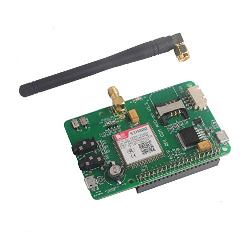 (SIM800 Module GSM GPRS Expansion Board UART V2.3 Quad-Band 850/900/1800/1900 MHz 2G Network for Raspberry Pi Geekstory)