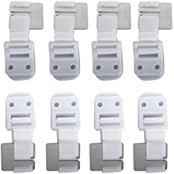 Safety 1st Furniture Wall Straps - 8 Straps