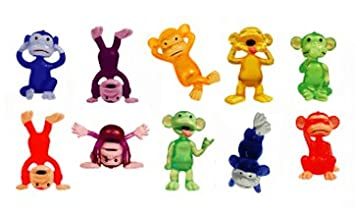 Amazoncom Funny Monkey Figures Tiny Plastic Monkey Figures - Monkey knows how to operate vending machine