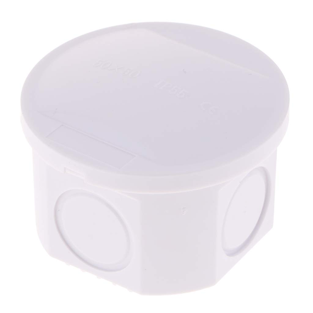 150 x 110 x 70mm Sharplace Boitier De Jonction Ip65 Abs Imperm/éable Plastique Blanc