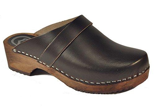 Toffeln - Zuecos para mujer Marrón marrón 37