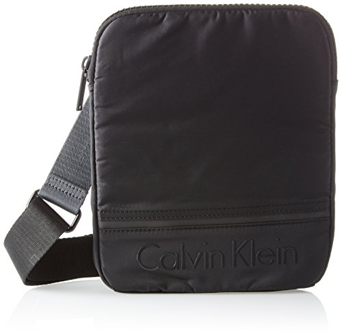 B Negro 2x26x21 y Klein cm x Shoppers 2 Black Matthew Hombre T Crossover 0 H bolsos Flat Calvin de hombro 76apBBR