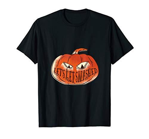Jack o Lanterne Let's get smashed Funny Halloween Joke -