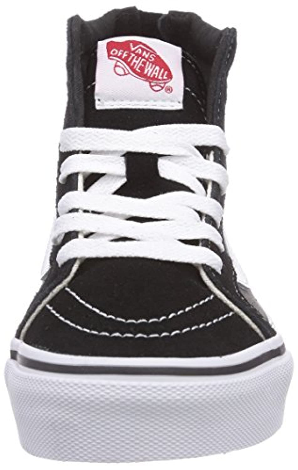 Vans SK8-HI ZIP, Unisex Kids Hi-Top Sneakers, Multicolour (Black/Charcoal BA5), 32 EU, 1 UK