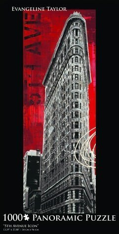 5Th Avenue Icon -Evangeline Taylor Panoramic 1,000 Pc - Shops 5th Nyc Avenue