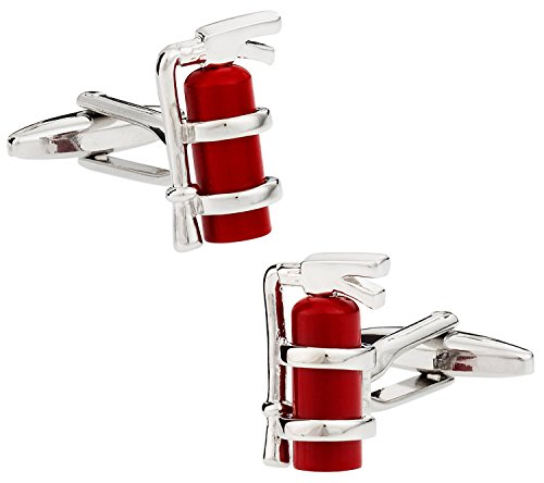 Extinguisher Fireman Firefighter Cufflinks Cuff Daddy product image