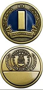 U.S. Air Force 2nd Lieutenant 0-1 Challenge Coin by Eagle Crest