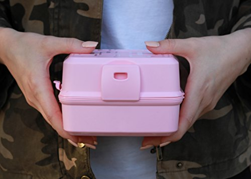 Lunch Cube - Sandwich Lunch Container for Lunch Boxes and Backpack (4 Color Options) To go Salad Snack Cube for Adults & Kids - Portion Control With 4 Compartments 2 Lids - BPA Free Meal Prep Mini Food Storage