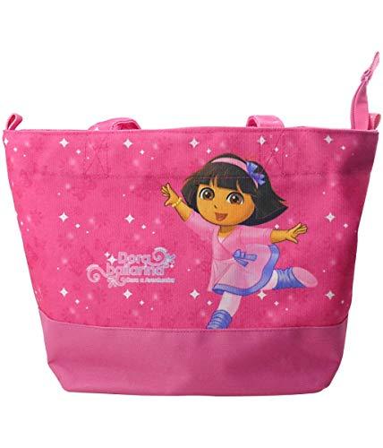 Bolsa Rosa Dora Bailarina 32Cm - Dora Aventureira
