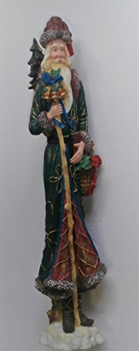 Figurines Santa Pencil (Lenox Old World Pencil Santa with Bells of Christmas 1996)