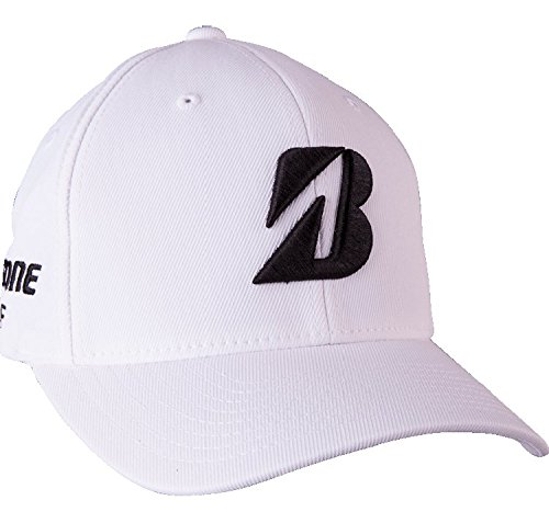 Bridgestone Tour Fitted Cap 2017 White Small/Medium by Bridgestone