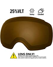 OutdoorMaster Ski Goggles PRO Replacement Lens - 20