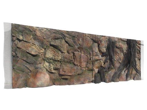 Aquarium Rückwand 3d Wurzel 200x60cm bei Robizoo