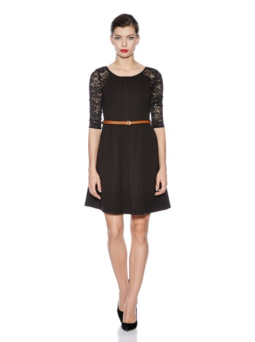Yumi Kleid black DE 38 (UK 10)