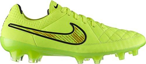 Nike Tiempo Legend V Fg 631518 Scarpe Da Allenamento Da Calcio Per Uomo Volt / Volt-hyper Punch-black