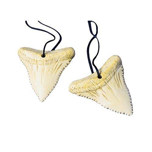 Shark Tooth Necklaces 1 Dozen