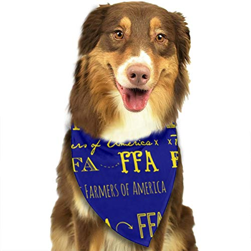 FRTSFLEE Dog Bandana FFA Future Farmers of America Scarves Accessories Decoration for Pet Cats and -