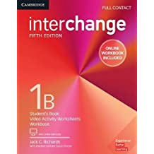 Interchange Level 1B Full Contact with Online Self-Study and Online Workbook