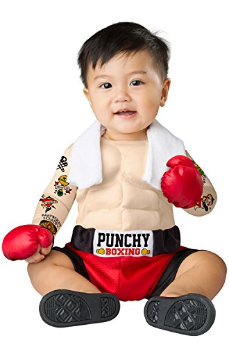 Boxing Halloween Costumes For Toddlers (Baby Bruiser Infant Costume)