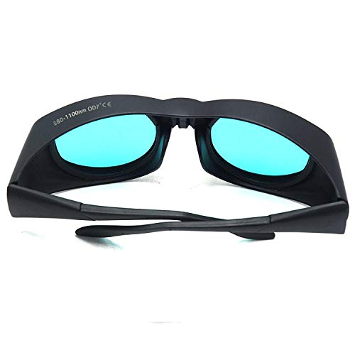 EP-15-4 Wide Spectrum Continuous Absorption 680nm-1100nm 694nm 755nm 808nm 810nm 904nm 980nm 1064nm Laser Safety Glasses