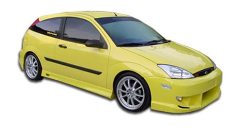 Duraflex ED-QPU-656 Poison Side Skirts Rocker Panels - 2 Piece Body Kit - Compatible For Ford Focus 2000-2007