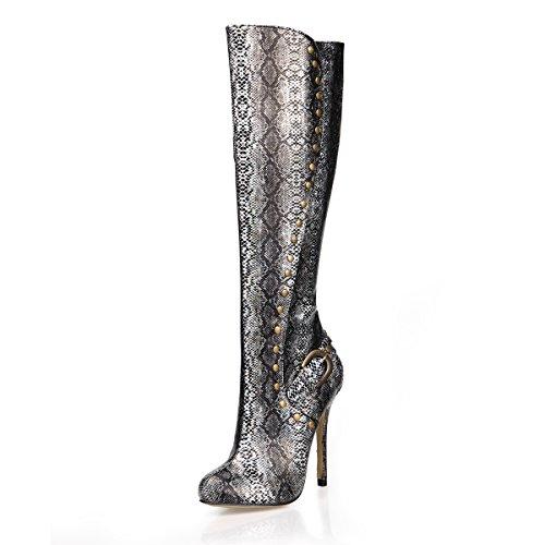 para El Rodilla De Botas De De Otoño De TAC Invierno Mujer Best Zapatos 4U Altas Zapatos xHwzw8pq