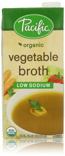 Pacific Foods, Pacific Organic Low Sodium Vegetable Broth Concentrate 32 oz (6 count) by Pacific Foods