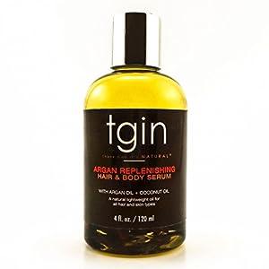 tgin Argan Replenishing Hair & Body Serum
