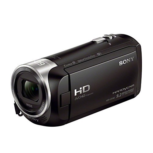 Sony HDR-CX440 Handycam - 8GB Wi-Fi 60p HD Camcorder (Renewed)