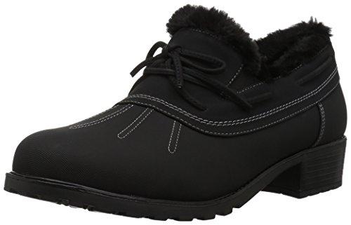 Trotters Women's Brrr Rain Shoe, Black, 8.5 N US