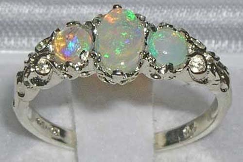 Natural Australian Opal Rings Amazon