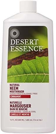 Desert Essence Neem Cinnamint Mouthwash - 16 fl oz