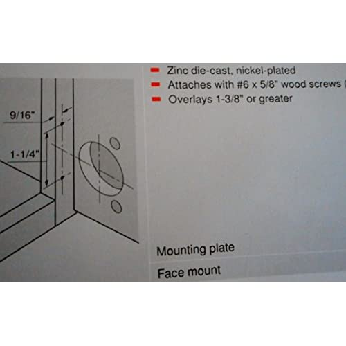 30%OFF Blum compact 33 base plate facc mount 1 3/8