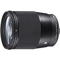 Sigma 16mm f/1.4 DC DN Contemporary Lens for Sony E-mount Cameras (Black)