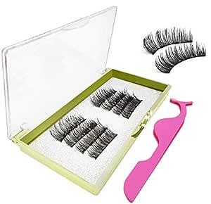 Ulensy 8 PCS Upgraded Magnetic Eyelashes, Reusable Magnetic Eyelashes, Great Ultra Thin Magnetic Eyelashes