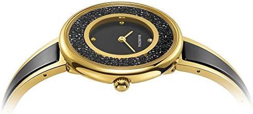 MAMONA Donna Orologio Nero Ceramica Oro Acciaio Inossidabile L3889BKGT