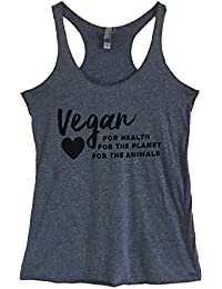 Women's Vegan for Health Planet and Animals Tank Top