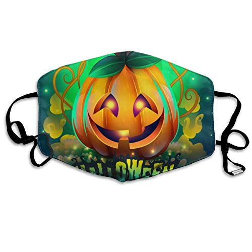 Creepy Halloween Mouth Mask Anti Pollution Dust Face Mask Washable Reusable Breathable for Man Woman