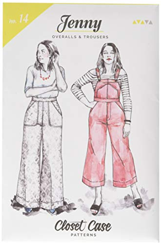 Closet Case Studio CCP14 Jenny Overalls and Trousers Pattern ()