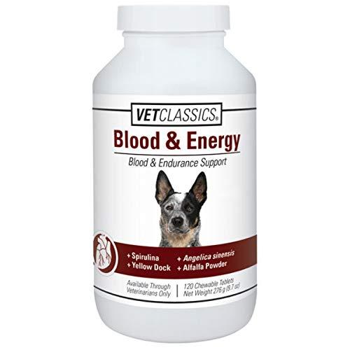 Vet Classics Canine Blood Endurance (120 Tablets) by Vet Classics