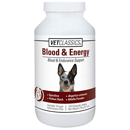 (Vet Classics Canine Blood Endurance (120 Tablets) )