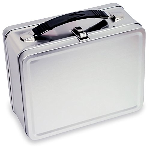 Lunchbox com Retro 9122 3 Plain Metal