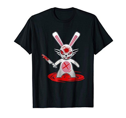Killer Bunny Halloween Horror TShirt]()
