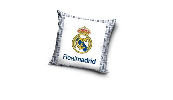 Real Madrid CF - Cojín RM Real Madrid 36 x 36 cm. (Sin ...