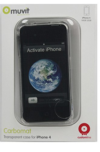 Muvit muccp0274–Housse de cristal pour iPhone 4/4S