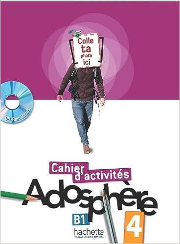 Lire un Adosphre 4 - Cahier d'activits + CD-ROM pdf epub