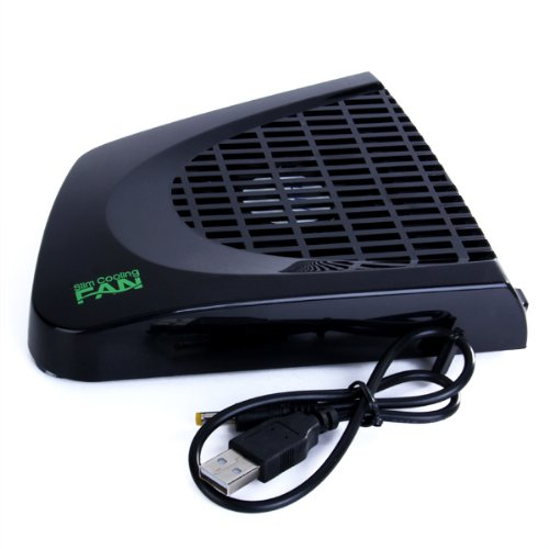 USB-powered outside Microsoft Xbox 360 Slim Cooling Fan