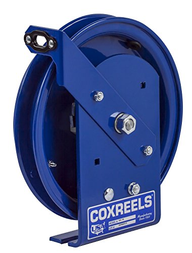 Coxreels SDL-50 Spring Rewind Static Discharge Cable Reel: 50' cable capacity, less cable (Reels Static Discharge)